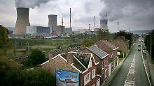 Trotz Rissen in Druckbehältern: Experten halten belgische AKW für sicher