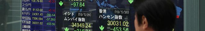Der Börsen-Tag: 06:08 Chip- und Exportwerte drücken Nikkei