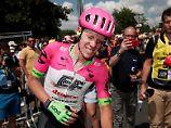 """Ex-Stars fühlen mit Radprofi: Tour-Held Craddock trotzt """"Höllenschmerzen"""""""