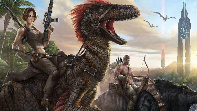 """Überleben unter Dinos: Darum geht's bei Ark: Survival Evolved""""."""
