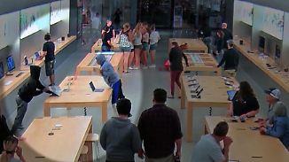 Kaum zu glauben, aber wahr: Diebe räumen Apple-Store am helllichten Tag aus