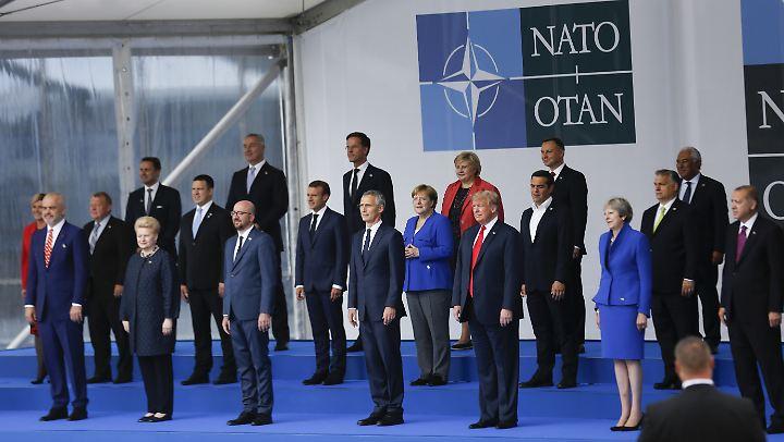 Bei dem Nato-Gipfel geht es heute um Einsatz in Afghanistan und die Beziehungen zur Ukraine und Georgien.