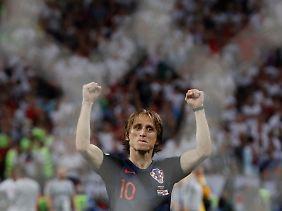 Kroatiens WM-Star Luka Modric trauert jetzt schon seinem langjährigen Mitspieler Cristiano Ronaldo hinterher.