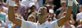 Novak Djokovic ist auf dem Weg zurück zu alter Stärke.