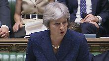 Ist derzeit politisch sehr angeschlagen: Großbritanniens Premierministerin Theresa May.