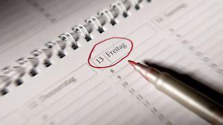 Kaum Unglücke am Angst-Datum: Freitag der 13. ist besser als sein Ruf