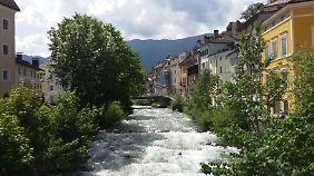 Bruneck ist ein beschauliches kleines Städtchen - ein Besuch lohnt sich.