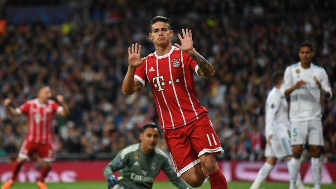 Der FC Bayern will James Rodriguez kaufen - doch den Kolumbianer zieht es offenbar zurück nach Madrid.