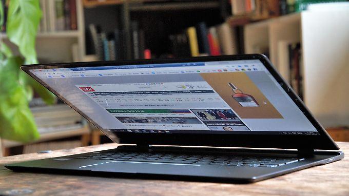 Flacher ist keiner: Das Acer Swift 7 ist laut Acer das dünnste Notebook der Welt.