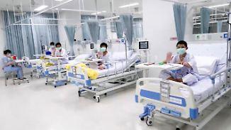 """""""Ich will Steak essen"""": Gerettetes Fußballteam grüßt aus dem Krankenhaus"""
