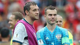 Artjom und Igor - die Vornamen der WM-Helden werden auch wohl allen Neugeborenen zuteil.
