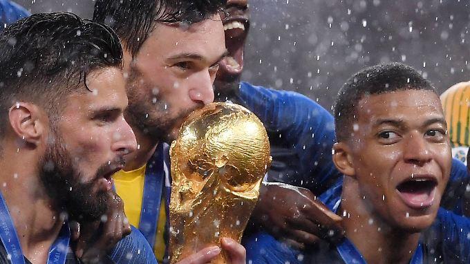 Video: Frankreich und Kroatien liefern sich denkwürdiges WM-Finale