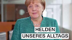 Ministerien koordinieren Pflegekonzept: Merkel besucht und würdigt Pflegekräfte