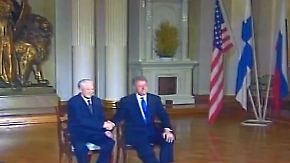 Auf Gorbatschows und Jelzins Spuren: In Helsinki prallen Ost und West aufeinander