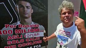 Millionen für Star, Hungerlohn für Arbeiter: Juves Ronaldo-Deal erzürnt einige Fiat-Mitarbeiter