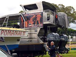 23 Verletzte vor Hawaii: Lavateil kracht auf Touristenboot