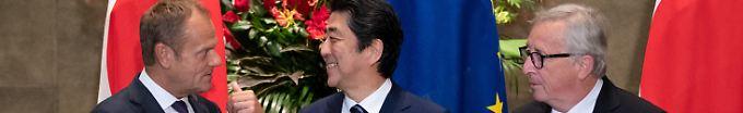 Der Tag: 11:41 EU und Japan schließen Freihandelsabkommen