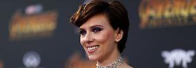 """... Scarlett Johansson auf Platz 76. Die Rolle der Black Widow in Marvels """"Avengers"""" erwies sich als äußerst lukrativ für die 33-jährige Schauspielerin."""