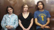 Menschenrechte mehrfach verletzt: Strafen gegen Pussy Riot sind rechtswidrig