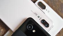 Auch ältere Modelle sind gut: Diese Smartphones haben Spitzen-Kameras