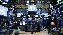 Dow Jones schließt mit Plus: Finanz- und Industriewerte stützen US-Börse