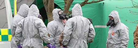 Giftanschlag in Großbritannien: Polizei will Skripal-Täter identifiziert haben