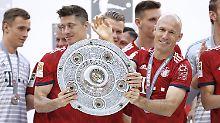 """Thiago, Robben, Coman, """"Lewy"""": Der Gerüchte-Irrsinn beim FC Bayern"""