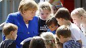 Ähnlich dürfte es gewesen sein, als Merkel das Caritas-Zentrum in Köln-Kalk besuchte.