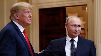 Geheimdienstchef völlig überrumpelt: Trump will sich mit Putin im Weißen Haus treffen