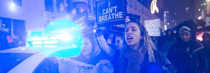 """""""Ich kann nicht atmen!"""": Werden Beamte im Fall Garner doch bestraft?"""