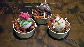 Für experimentierfreudige Gaumen: Eis verschmilzt mit Pommes zu Geschmacksexplosion