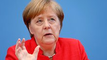 """""""Werde Zusammenarbeit pflegen"""": USA bleiben für Merkel wichtiger Partner"""