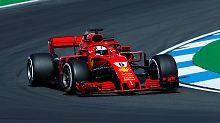 Training in Hockenheim: Verstappen stark, Vettel auf Rang vier