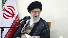 """""""Ein riesengroßer Fehler"""": Chamenei will nicht mit USA verhandeln"""