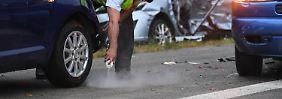 Karambolage mit vier Toten: Wie kam es zum Unglück auf der A81?