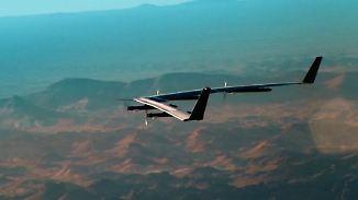 """Neue Maßstäbe bei Airbus: Solardrohne """"Zephyr"""" fliegt bis zu 20 Kilometer hoch"""