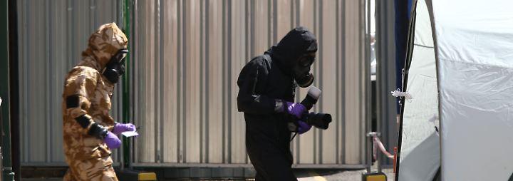 Wegen Giftanschlag auf Skripal: USA kündigen neue Sanktionen gegen Russland an