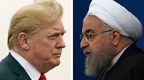 Blockade der Ölexport-Routen?: USA und Iran drohen sich wechselseitig