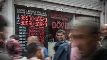 Der Börsen-Tag: Türkische Lira nimmt Crashkurs wieder auf - zieht Dax ins Minus