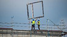 Hochkonjunktur für Bauarbeiter: Baubranche erlebt Nachfrageboom