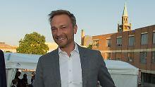 FDP-Chef frisch verliebt: Christian Lindner hat eine neue Freundin