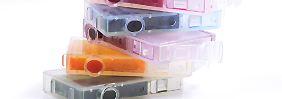 Warentest prüft Alternativen: Teure Druckerpatronen kann man sich sparen