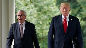 Einigung im Handelsstreit: Juncker bekommt seinen Deal