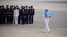 Zeichen der Annäherung: Nordkorea übergibt Gebeine von US-Soldaten
