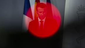 Reformwilliger Macron unter Druck: Frankreichs Wirtschaft tritt auf der Stelle
