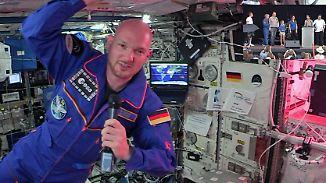 Live-Chat ins All: Alexander Gerst beantwortet Fragen seiner Fans