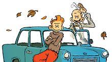 Spirou und Fantasio brechen in die DDR auf.