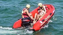 Starker Wellengang in der Ostsee: Zwei Menschen beim Baden ertrunken