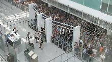 Sicherheitspanne in Bayern: Frau legt Flughafen München lahm