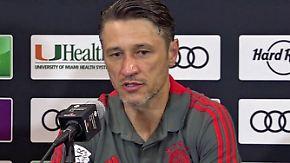 """Kovac nach USA-Tour der Bayern: """"Wir sind defensiv noch nicht stabil"""""""